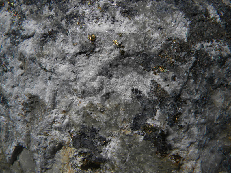 Detail of stone grey texture. With crack background stock photo