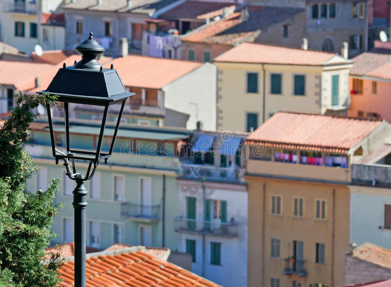 Download Detail of a streetlamp stock image. Image of sardinia - 27453235