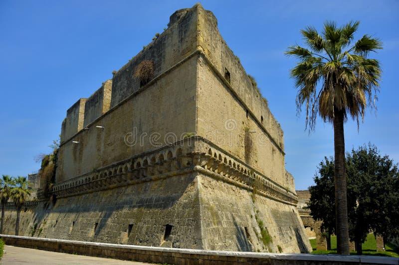 Detail swabian Castle of Bari royalty free stock photography