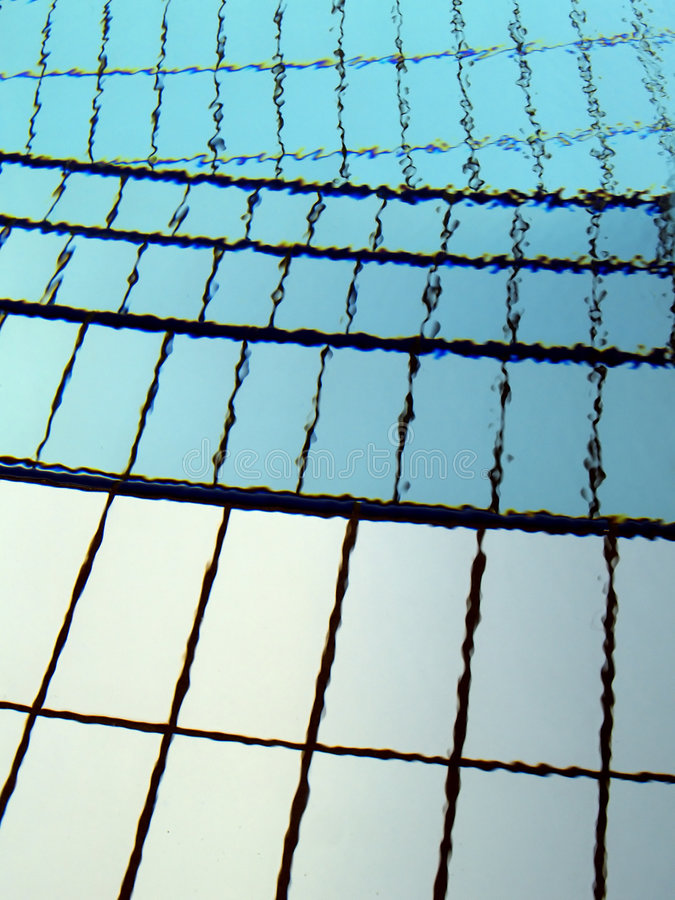 Detail of swimming pool royalty free stock image