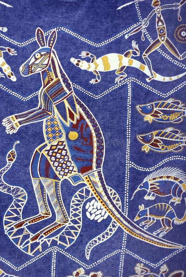 Aboriginal design, Australia royalty free stock photos