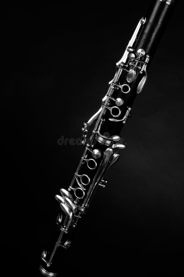 Detail take of a clarinet stock photos