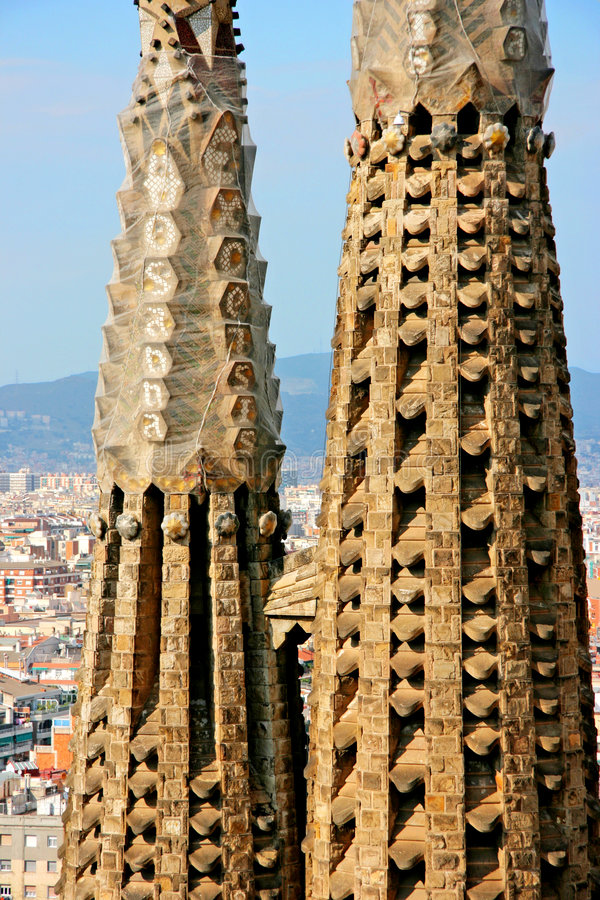 Download Detail Of The Temple Of The Sagrada Familia Stock Photo - Image: 6524466