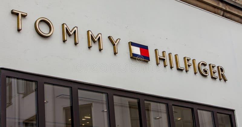 6a602c05 Tommy Hilfiger store. Detail of Tommy Hilfiger store in Copenhagen,  Denmark. It is