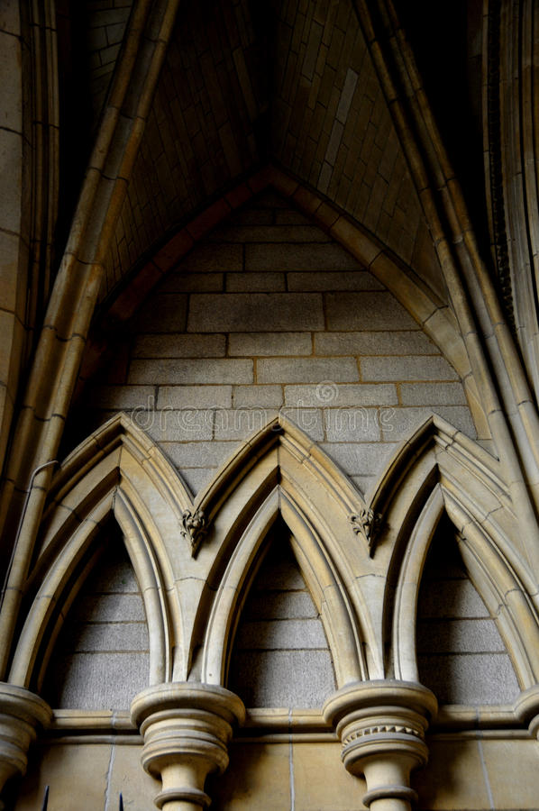Detail of Truro Cathedral royalty free stock photography