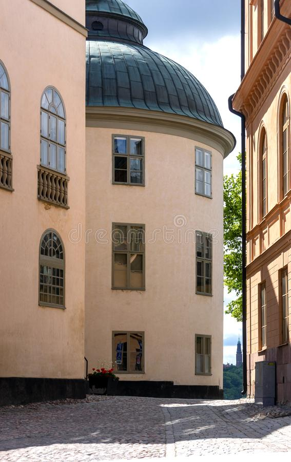 Svea Court of appeal, Riddarholmen district, Stockholm, Sweden. royalty free stock image