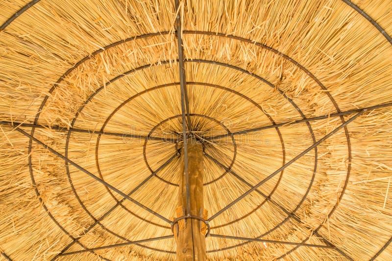 Detail of an umbrella stock image
