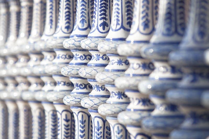 Detail van ceramisch stuk royalty-vrije stock foto