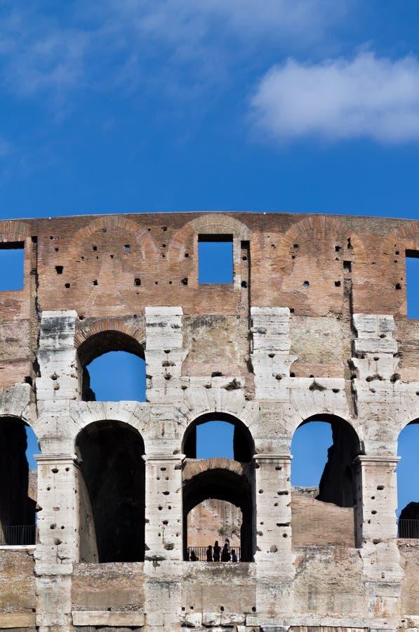 Detail van coliseum royalty-vrije stock fotografie