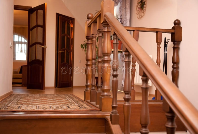 Detail van comfortabel huisbinnenland royalty-vrije stock foto's
