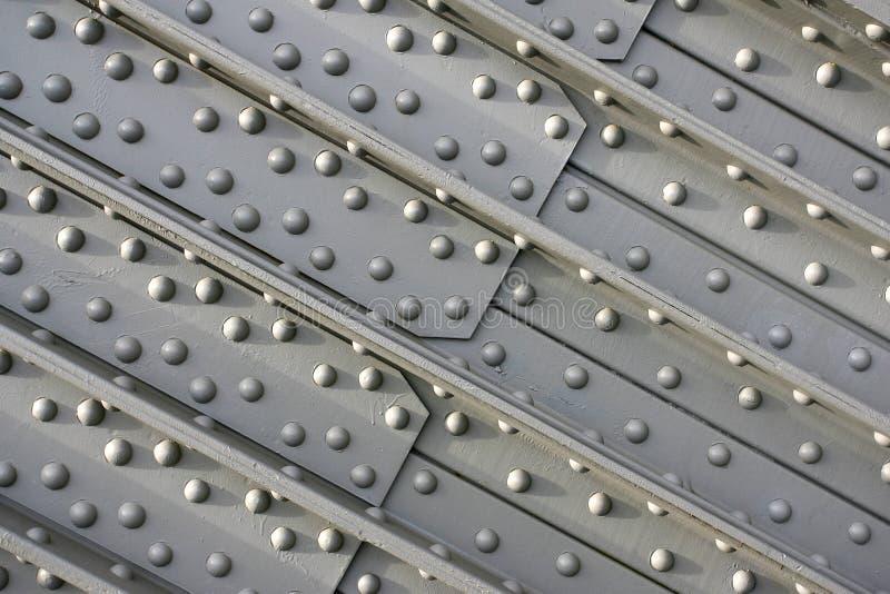 Detail van de bruggen van het basisstaal royalty-vrije stock foto