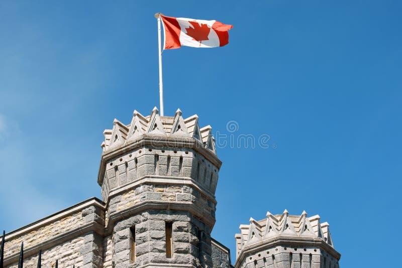 Detail van de Koninklijke Canadese Munt in Ottawa stock afbeelding