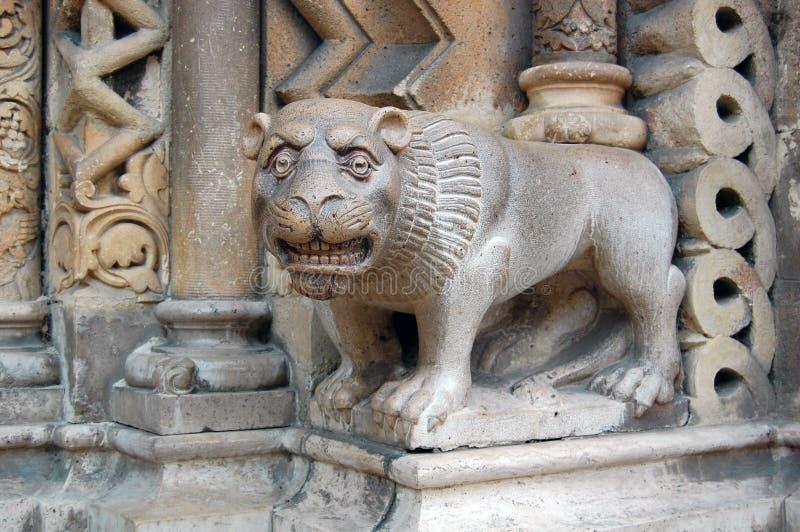 Detail van de middeleeuwse bouw stock afbeeldingen