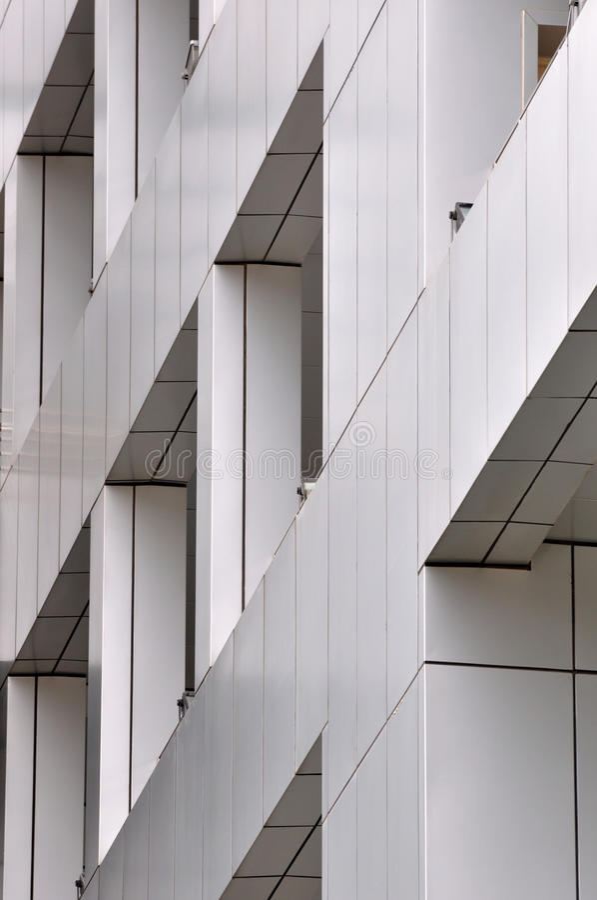 Detail van de moderne bouw stock foto afbeelding for Moderne bouw