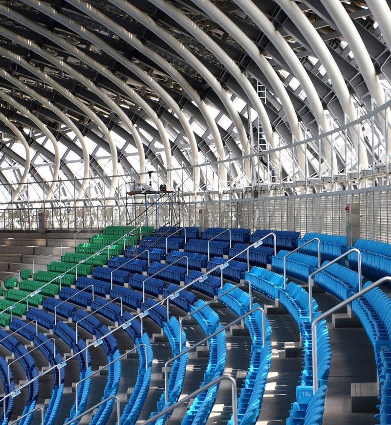 Detail van een Grote Faciliteit van Sporten stock foto's