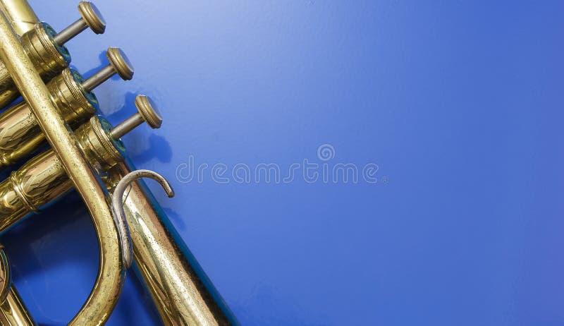 Detail van een kornet royalty-vrije stock foto's