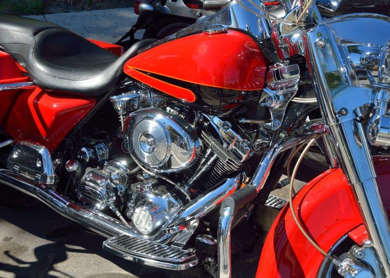 Detail van een motorfiets royalty-vrije stock afbeeldingen