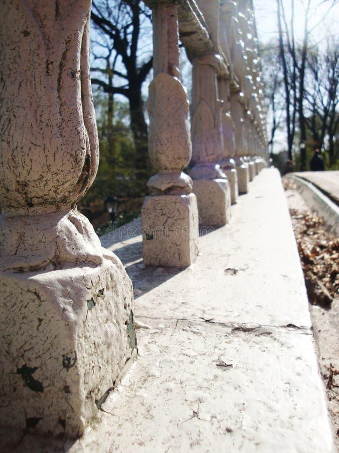 Detail van een oude brug royalty-vrije stock foto