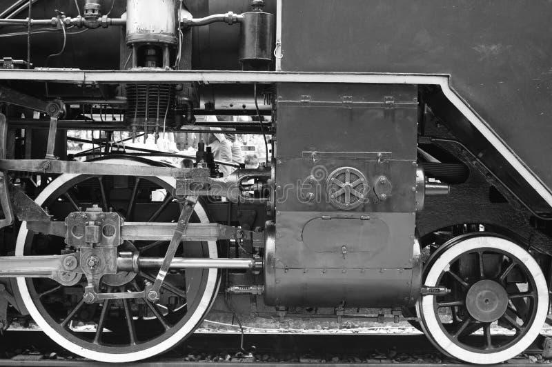 Detail van een oude trein royalty-vrije stock foto's