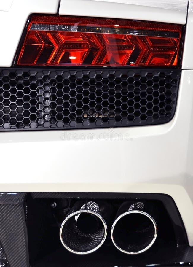 Detail van een sportwagen royalty-vrije stock foto's