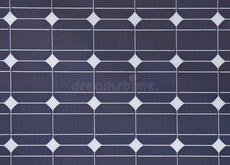 Detail van een zonnepaneel royalty-vrije stock foto