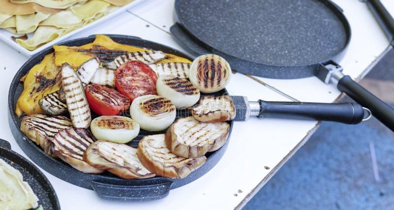 detail van gekookt vegaetable royalty-vrije stock foto
