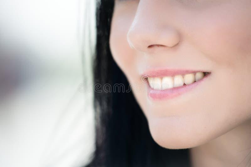 Detail van gezicht - mond royalty-vrije stock fotografie