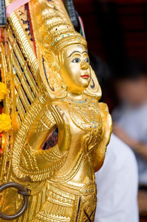 Detail van gong mon, een Thais muziekinstrument royalty-vrije stock foto's