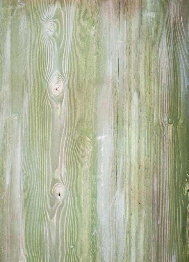 Detail van groene bevlekte houten planken royalty-vrije stock afbeelding