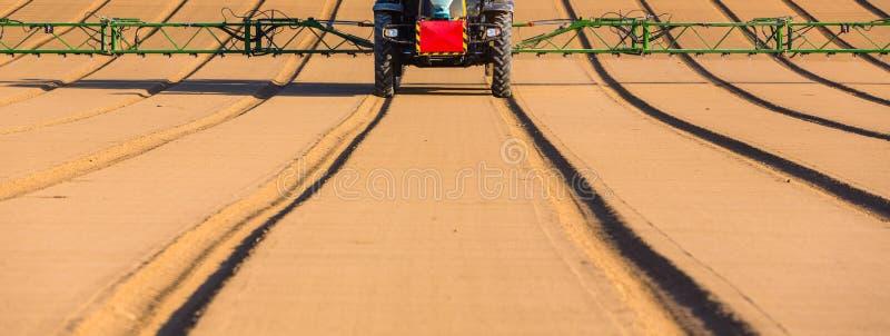 Detail van het bespuiten van herbicide royalty-vrije stock fotografie