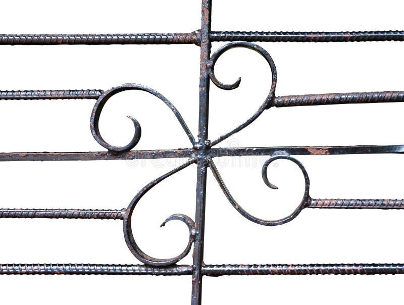 Detail van het Overladen Werk van het Metaal royalty-vrije stock foto