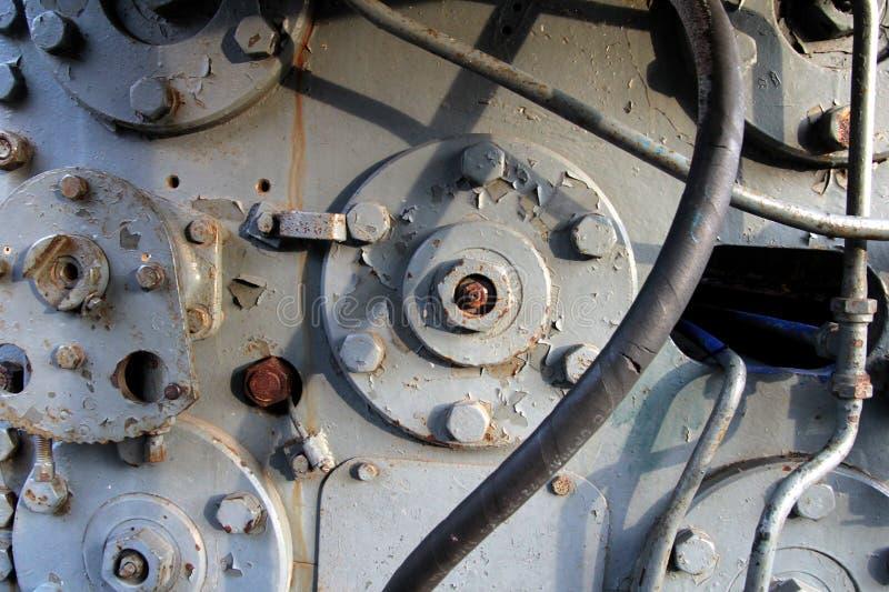 Detail van industriële montage royalty-vrije stock foto