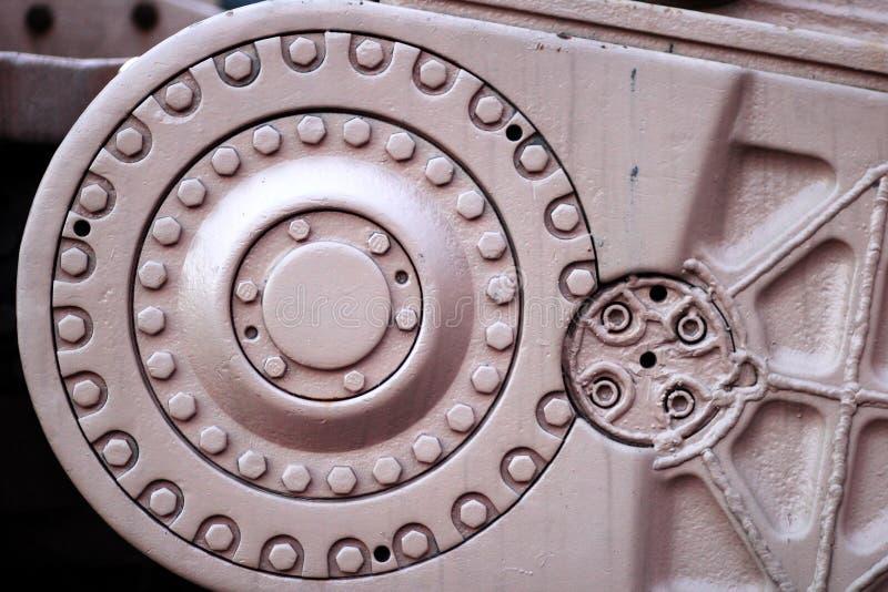 Detail van industriële montage stock fotografie