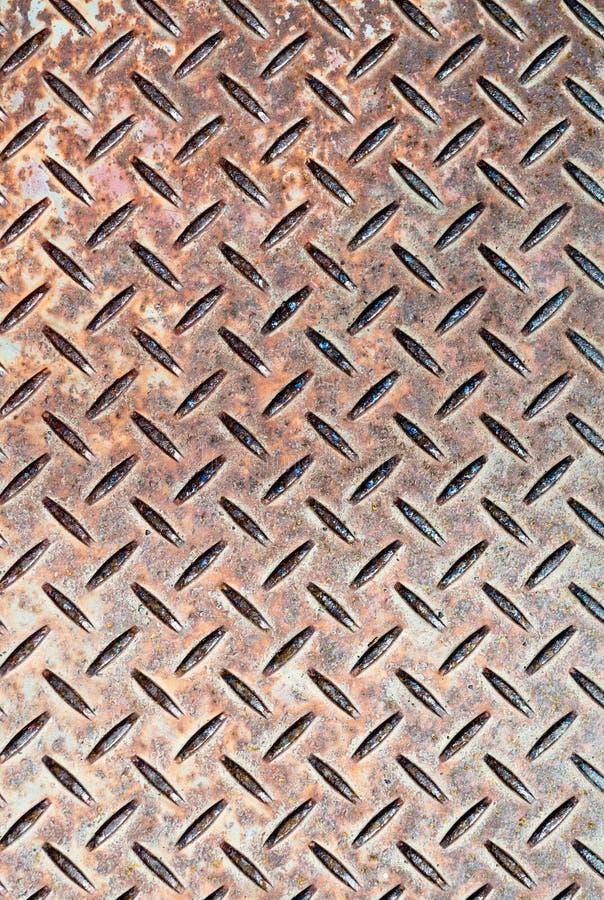 Het Staal van Checkerplate royalty-vrije stock fotografie