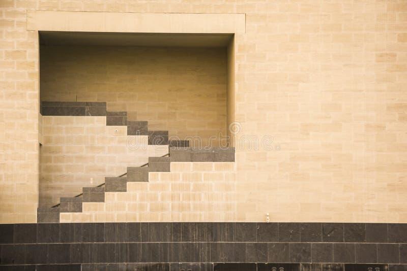 Detail van Islamitisch kunstmuseum in Doha Qatar royalty-vrije stock fotografie