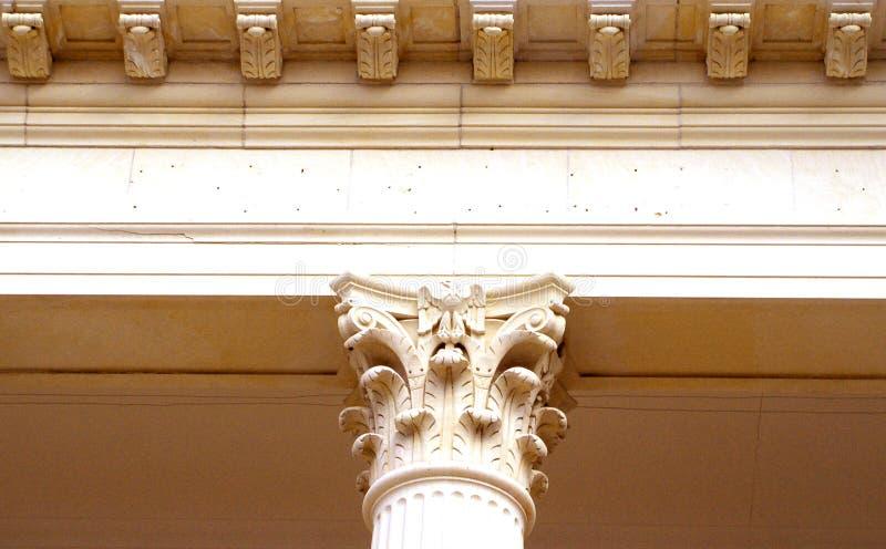 Detail van Kolom royalty-vrije stock afbeelding