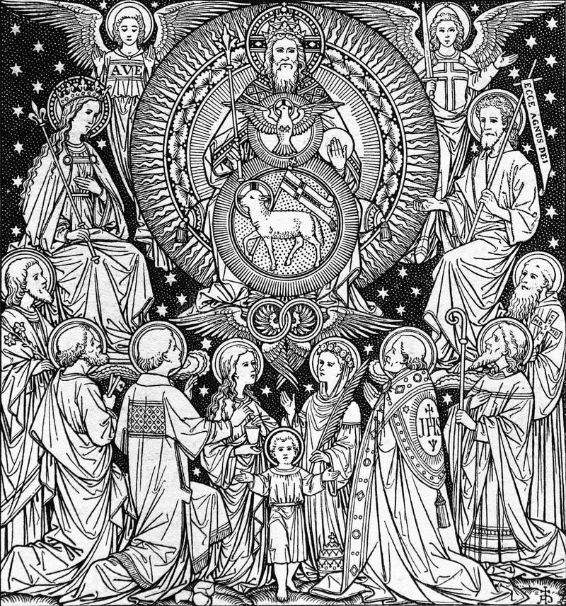 detail van liturgieboek vector illustratie