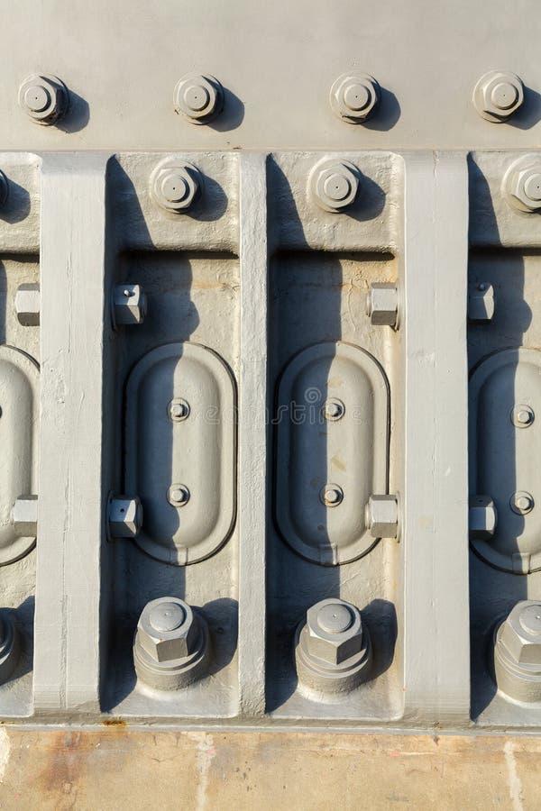 Detail van noten - en - bouten van Sydney Harbour Bridge royalty-vrije stock afbeelding