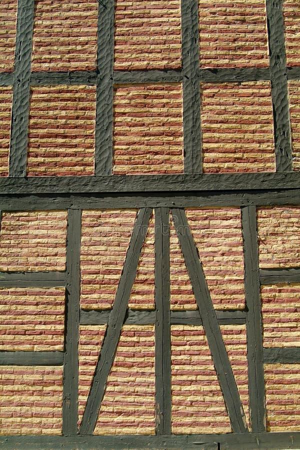 Detail van oude bakstenen muur royalty-vrije stock fotografie
