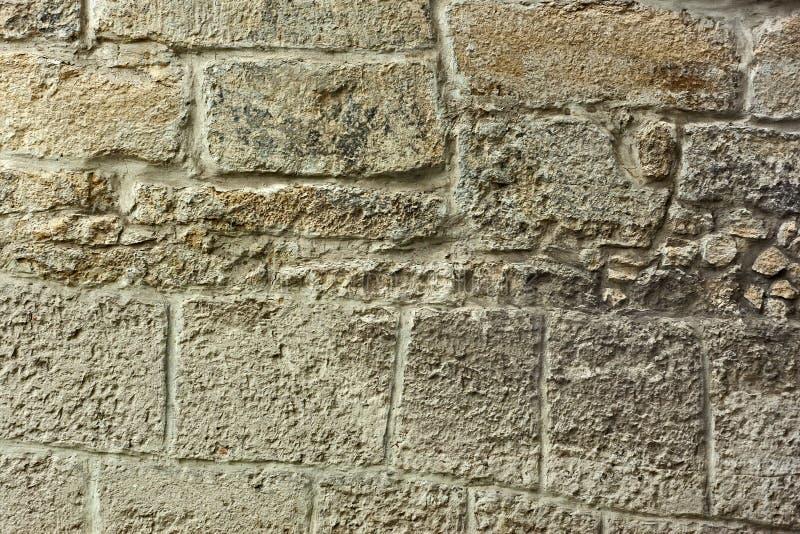 Detail van oude steenmuur stock foto's