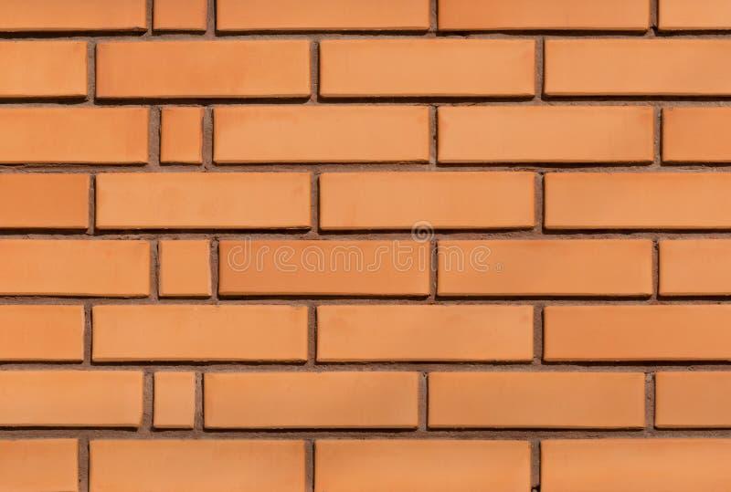 Detail van rode bakstenen muur stock afbeelding