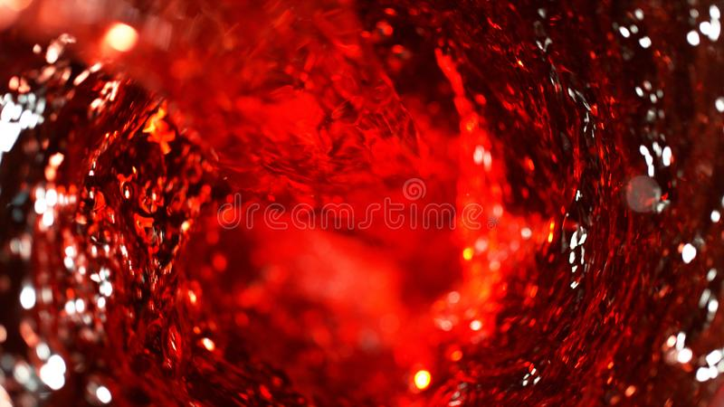Detail van rode wijnroes stock foto