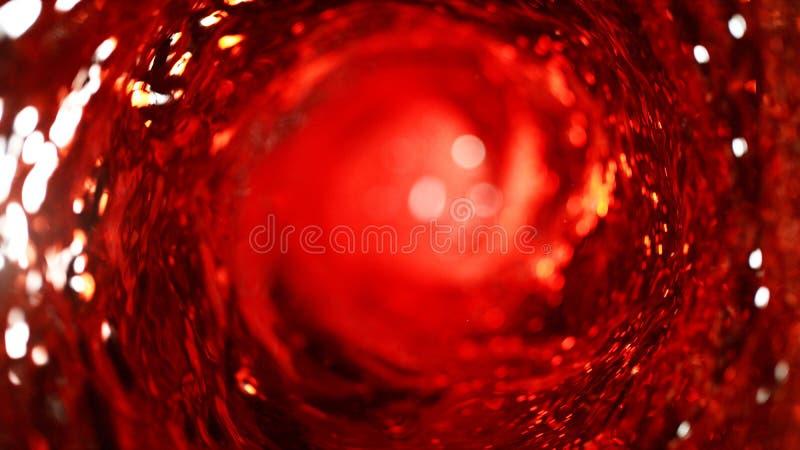 Detail van rode wijnroes stock afbeelding