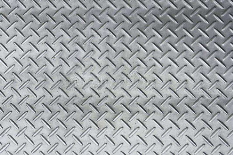 Detail van roestvrij staal of metaaltextuurpatroon van een mangatdekking voor achtergrond stock foto's