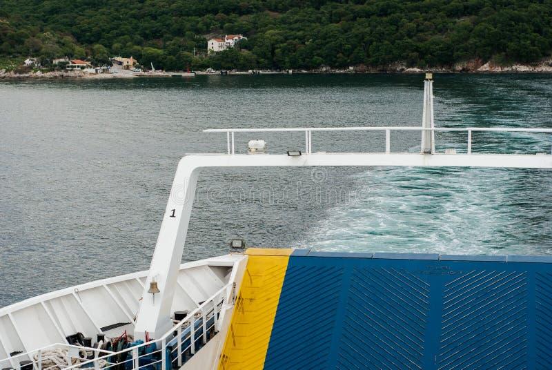 detail van veerboot royalty-vrije stock foto