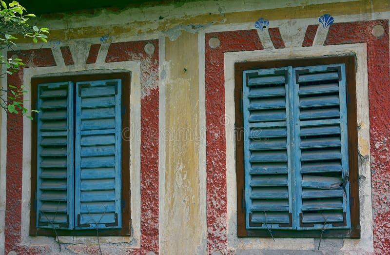 Detail van Verlaten huis royalty-vrije stock foto's