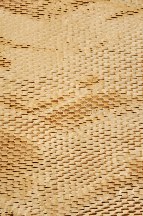 Detail van verpakkingsdocument textuur royalty-vrije stock fotografie