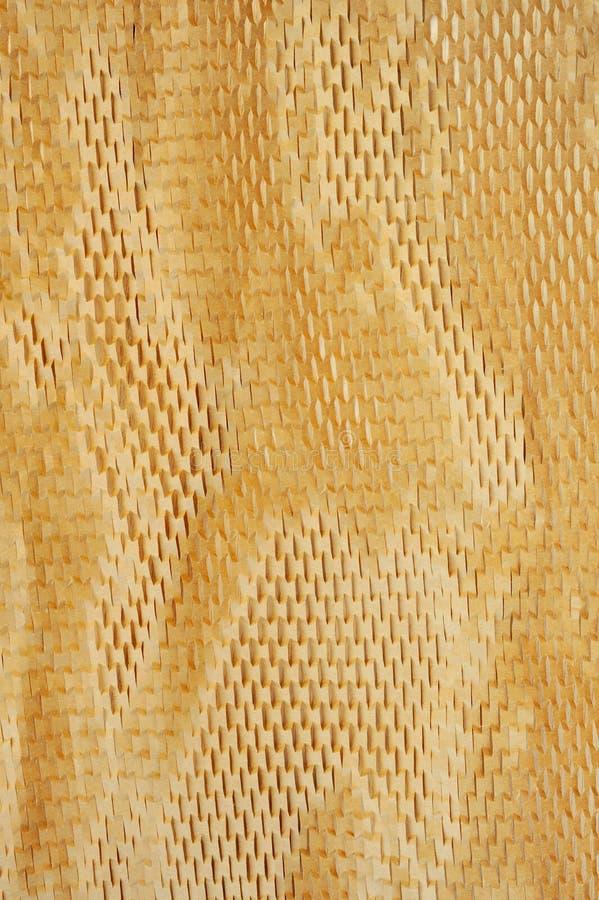Detail van verpakkingsdocument textuur royalty-vrije stock afbeelding