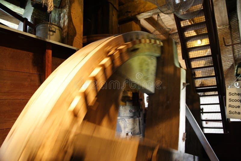 Detail van windmolen stock afbeeldingen