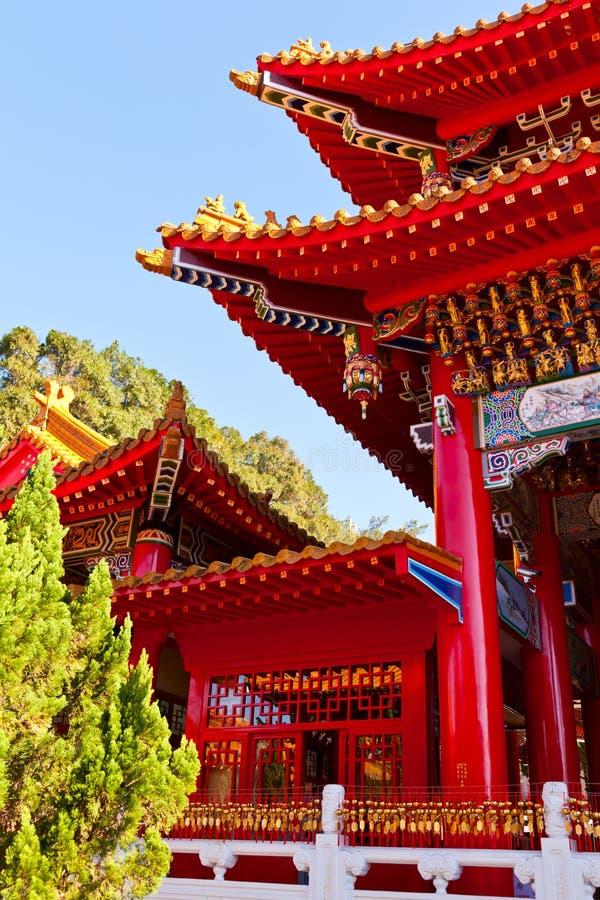 Het detail van de Tempel van Wenwu royalty-vrije stock foto's